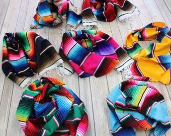 Serape Blanket scarf - Sweet Texas Treasures - mexican blanket scarf, winter scarf, serape scarf, scarf, acrylic, falsa scarf