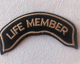 Life Member Patch