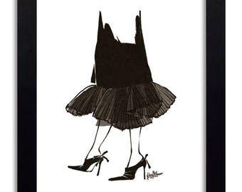 Dior Couture - Fashion Illustration Print Fashion Print Fashion Art Fashion Wall Art Fashion Poster Fashion Sketch Art Print