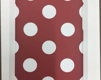 Matte iPhone 7 Red Polka Dot case!