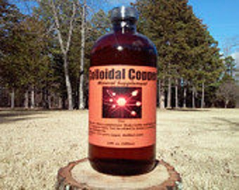 COLLOIDAL COPPER 16oz. an essential trace mineral.
