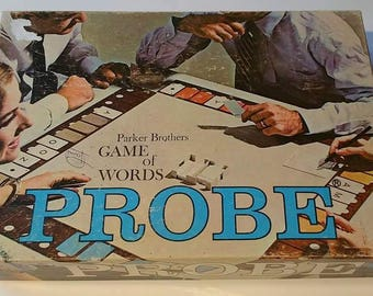 Probe 1964 Parker Brothers board game