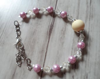 Bracelet chain and beads