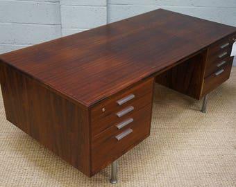 Vintage Danish Rosewood Executive Desk