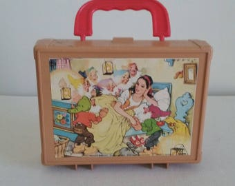 Vintage Disney Characters Block Puzzle Made in Germany, Block Puzzle, Hermann Eichhorn Blocks, Fairytale Block Puzzle