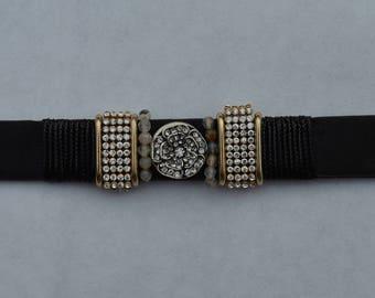 Pearl Leather Bracelet