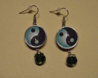 ying yang earrings