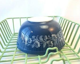 Pyrex vintage pyrex colonial mist 403 pyrex bowls blue pyrex mixing bowl