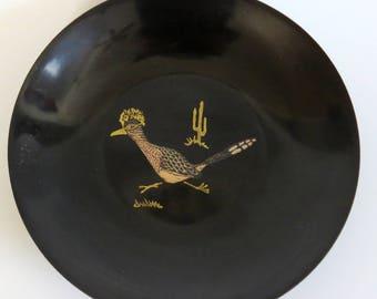 Vintage Couroc ROADRUNNER Bowl
