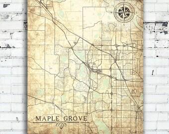 Minnesota Map Art Etsy - Minnesota city map