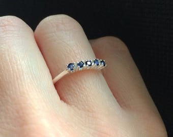 Sapphire 925 sterling Silver Ring