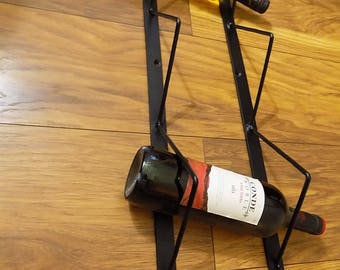 Wrought Iron (Forged Steel) Custom Made Wine Rack