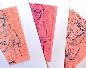 TRUE LOVE screen prints