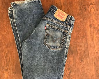 Vintage levis 517 bootcut jeans