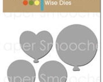 Paper Smooches Balloon Die