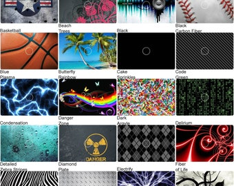 Choose Any 1 Vinyl Decal/Skin Design for Dell Inspiron 15 - 1545 Laptop Lid