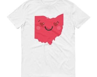 Happy Ohio / Short-Sleeve T-Shirt