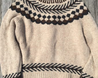 Thick Wool and Nylon Free People Sweater