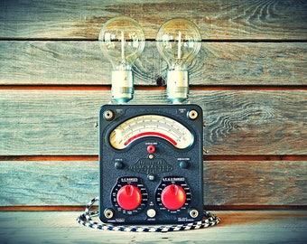 Vintage bulbs filament lamp: Bi-Bulb Avometer