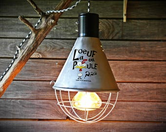 Industrial Style Pendant Lamp: Who's the first ? Chicken or Eggs