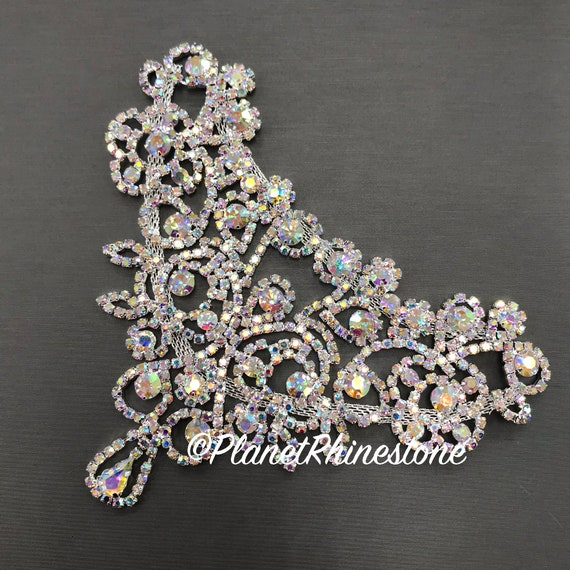 AB Rhinestone Applique #A-03