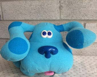 Blues Clues Plush, Vintage 1997 Tyco Blues Clues, Blues Clues