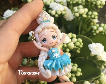 Special price!!! Ballerina Elsa handmade necklace
