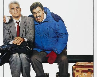 Back to School Sale: PLANES, TRAINS & AUTOMOBILES Movie Poster Steve Martin John Candy