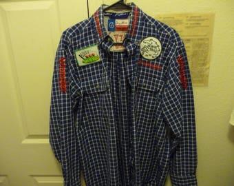 Vintage Wrangler Guillory Farms George Strait long sleeve shirt