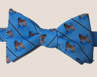 Wheaten Terrier Dog Bow Tie