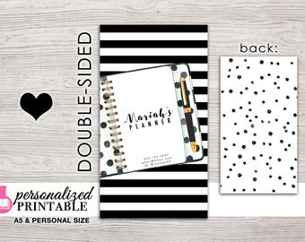 Printable Planner Dashboard - A5 or Personal Size - Design: #3