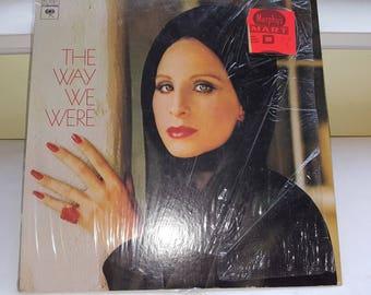 33 LP Record Album The Way We Were Barbara Streisand Columbia PC 32801