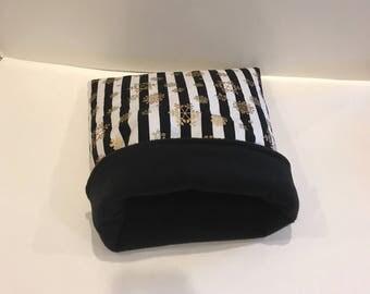 Winter guinea pig snuggle sack/ cuddle sack