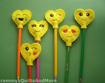 Pencil Toppers (Set of 6)