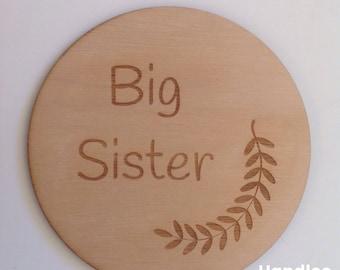 Big Brother/Big Sister Pregnancy Announcement Plaque