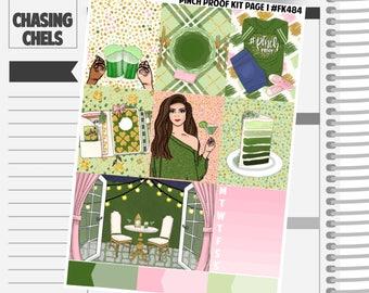 Pinch Proof Collection #FK484-490 Premium Matte Planner Stickers
