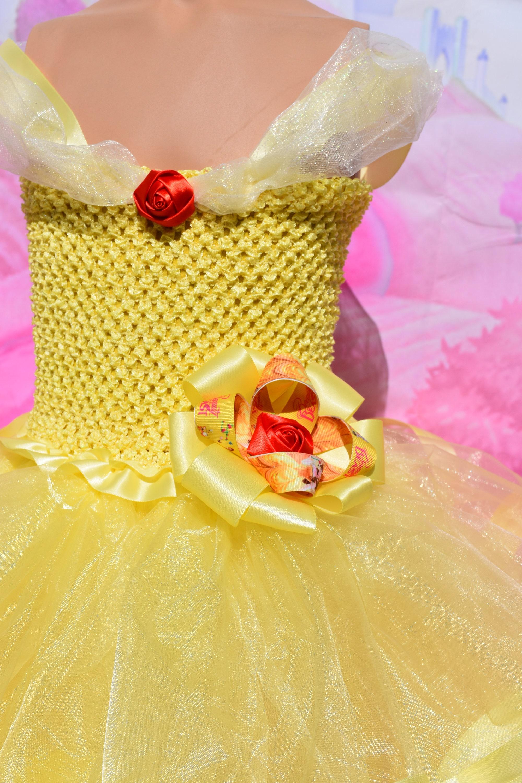 Belle inspired tutu dress Belle Birthday dress Beauty and The Beast Belle tutu & Belle inspired tutu dress Belle Birthday dress Beauty and The ...