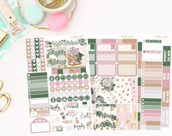 Forever and Always Personal Kit, Matte Removable planner stickers