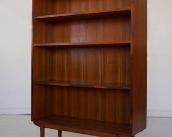 Mid-Century Danish Modern Designed Bookshelf by Borge Mogensen in Teak - Amazing & Rare!