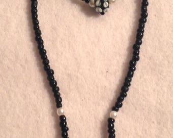 MARBLE - Beaded Jewelry Set