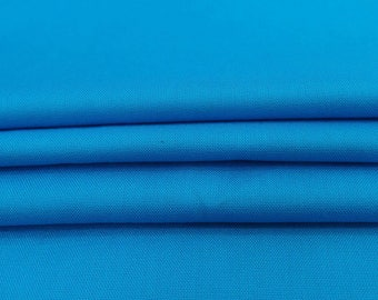 """Aqua Blue Fabric, Crafting, Dress Material, Home Decor Accessories Fabric, 42"""" Inch Rayon Fabric By The Yard PZBR6C"""