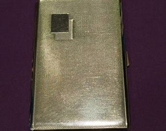 22%OFF Stainless Steel Cigarette Case with Snap Lock - Made in Austria - Circa 1950's