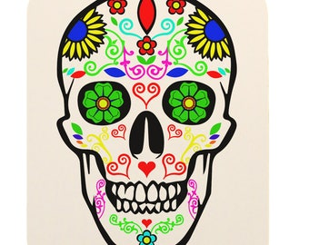 Day Of The Dead Sugar Skull Mouse Pad