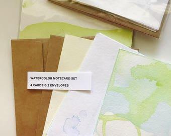 Watercolor Notecard Set