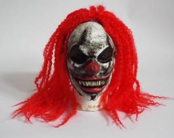 Evil Clown Long Hair Mask