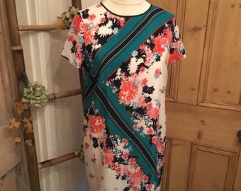 Vintage Inspired French Connection Shift Dress Size 14