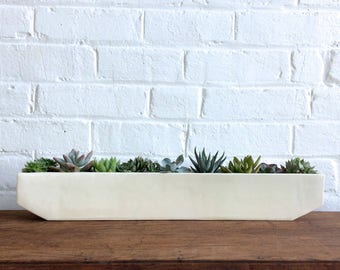 XL Linea Windowsill Planter