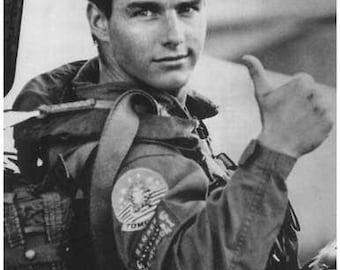 Top Gun Movie Tom Cruise  Movie  Rare Vintage Poster