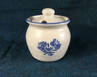 Vintage Pfaltzgraff Yorktowne Jam or Jelly Jar