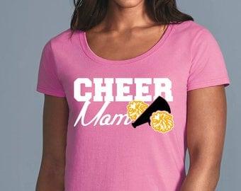 Custom Cheer Mom Shirt - Back to School - Cheer shirt - Cheerleader shirts - Cheerleading gifts - Cheerleading - Cheer gifts - Cheer Team